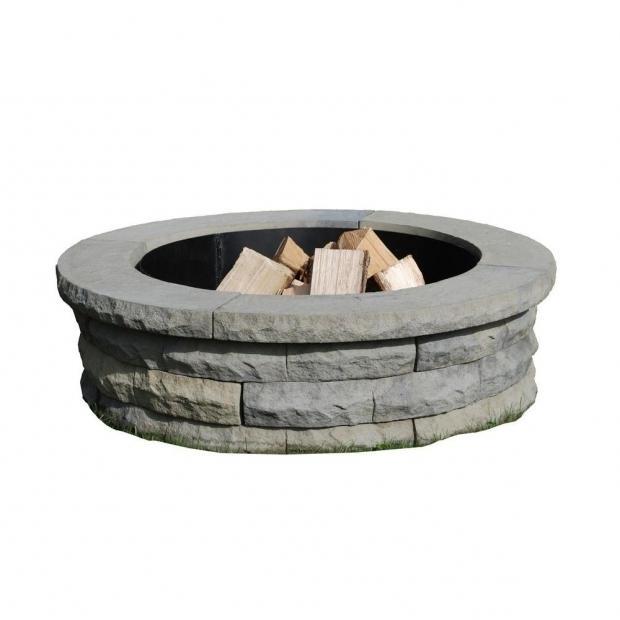Delightful Home Depot Fire Pit Ring Fire Pit Outdoor Living Kits Landscaping Garden Center The