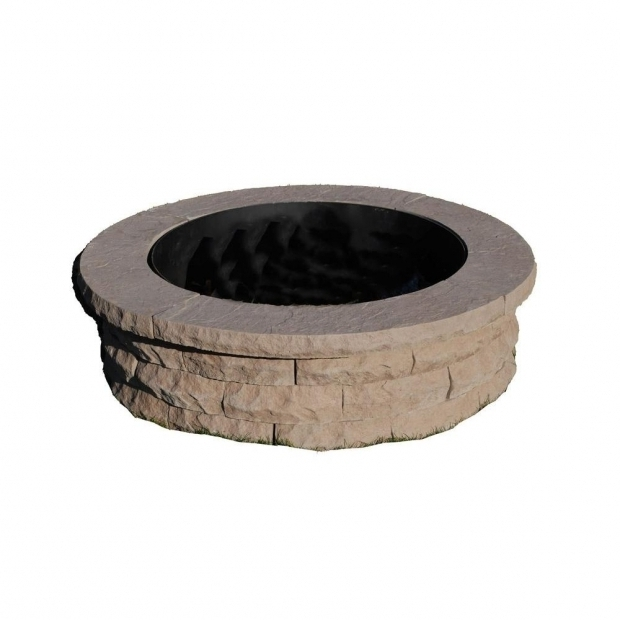 Delightful Home Depot Fire Pit Ring Wood Fire Pits Outdoor Heating The Home Depot