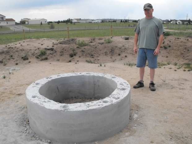 Fantastic Concrete Fire Pit Exploding Outdoor Fire Pit Need Some Advice Dodge Ram Ramcharger