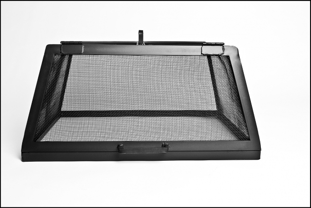 Fantastic Square Fire Pit Screen Square Or Rectangle Fire Pit Screen 12 36 Per Side