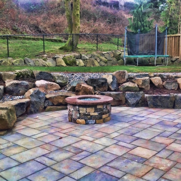 Fascinating Fire Pit Glass Stones Vancouver Firepit Design Firepit Installation Greenhaven