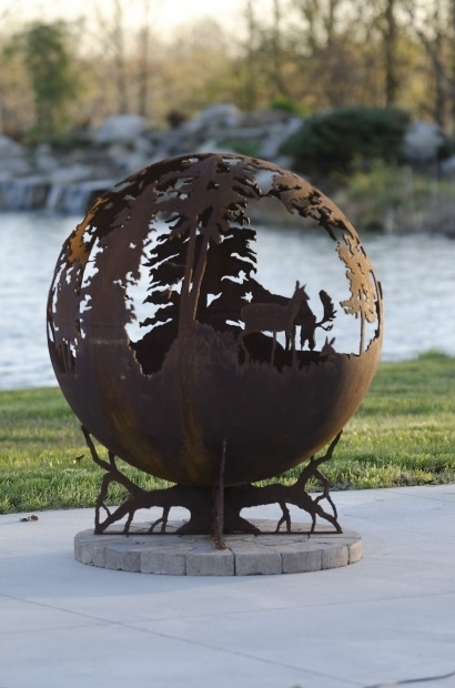 Gorgeous Deer Fire Pit Up North Fire Pit Sphere The Fire Pit Gallery