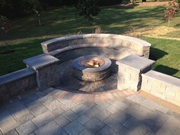 Gorgeous Ep Henry Fire Pit Hardscapes Rock Remodeling Outdoor Living