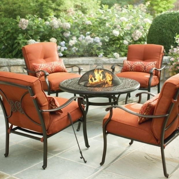 Gorgeous Home Depot Fire Pit Set Martha Stewart Living Cold Spring 5 Piece Patio Fire Pit Set With