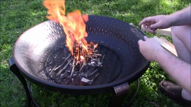 Image of Mainstays Fire Pit Fire Pit Amp Hot Dog Roasting Stick Youtube
