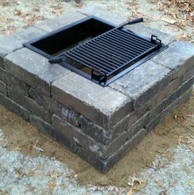 Image of Square Fire Pit Insert 17 Best Images About Fire Pits On Pinterest Fire Pits Runners