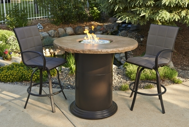 Incredible Bar Height Fire Pit Table Pub Height Fire Pit Tables