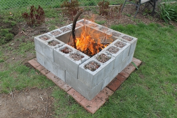 Incredible Concrete Fire Pit Exploding Concrete Block Fire Pit Design And Ideas