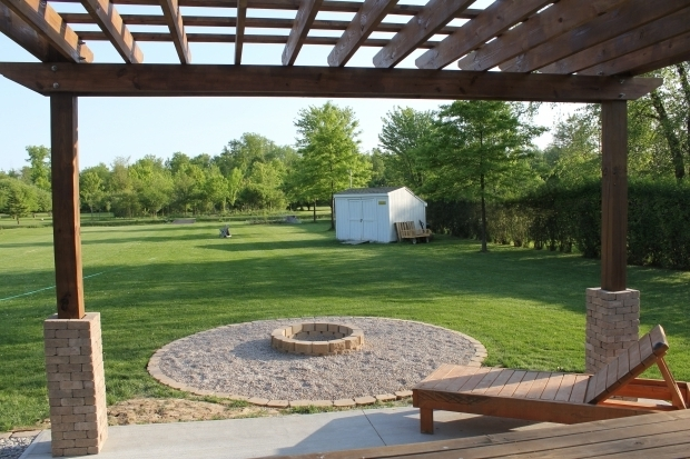 Incredible Fire Pit Under $50 A Diy Back Yard Transformation Pergola Deck Fire Pit Diy At