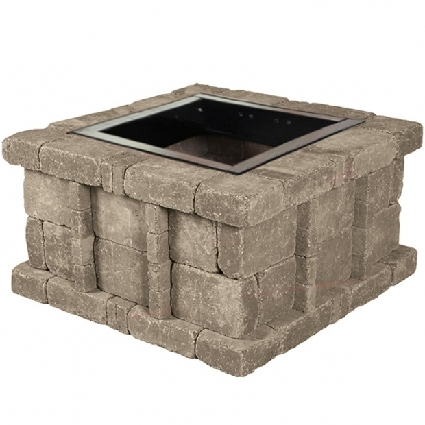 Inspiring Rumblestone Fire Pit Insert Rumblestone 46 In X 105 In Round Concrete Fire Pit Kit No 1 In
