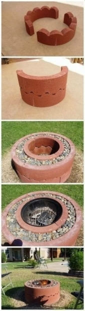 Picture of Fire Pit Under $50 Backyard Ideas Diy Fire Pit Project Under 50 Now Is The