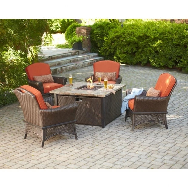 Picture of Home Depot Fire Pit Set Hampton Bay Rosemarket 5 Piece Patio Fire Pit Set Xsc 1786 The