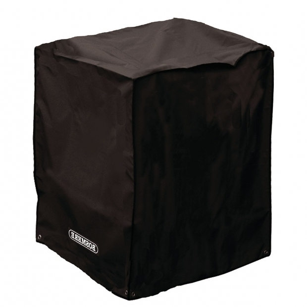 Picture of Square Fire Pit Covers Small Square Fire Pit Cover Storm Black Covers Bbq Covers