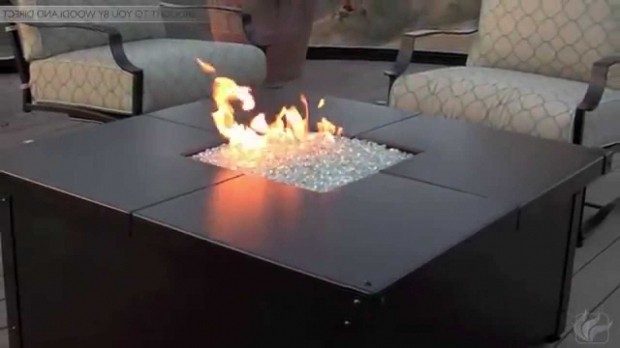 Picture of Woodland Direct Fire Pit Aero Square Fire Pit Table Youtube