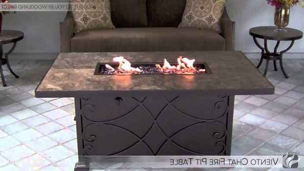 Picture of Woodland Direct Fire Pit Viento Square Fire Pit Table Youtube