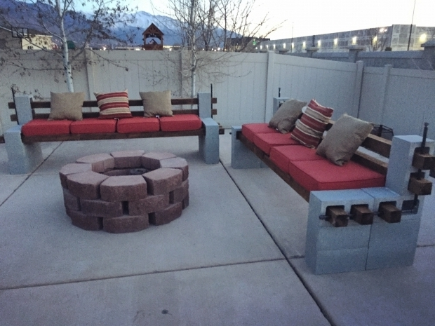Remarkable Diy Fire Pit Bench 17 Best Ideas About Cinder Block Fire Pit On Pinterest Cinder