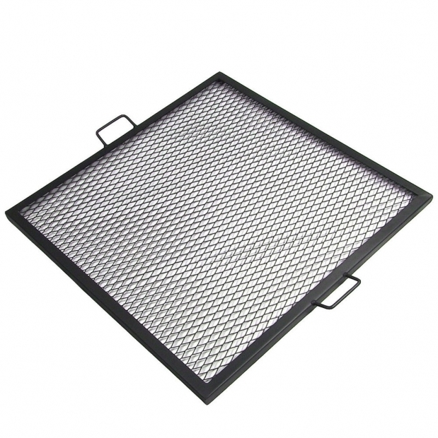 Remarkable Fire Pit Grate Square Sunnydaze Decor Sunnydaze X Marks 24 Inch Square Fire Pit Cooking