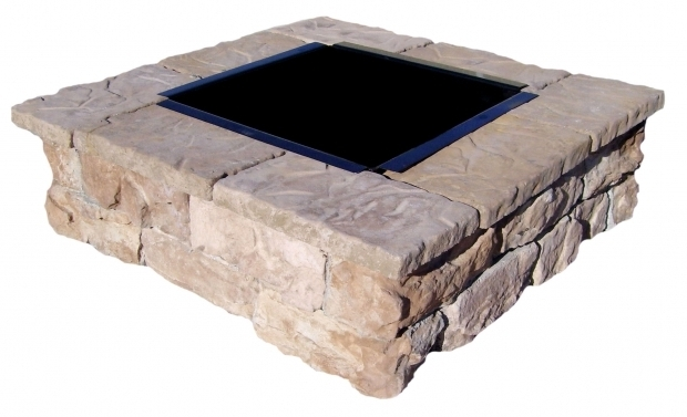 Remarkable Square Fire Pit Insert Square Fire Pit Kits Natural Concrete Products