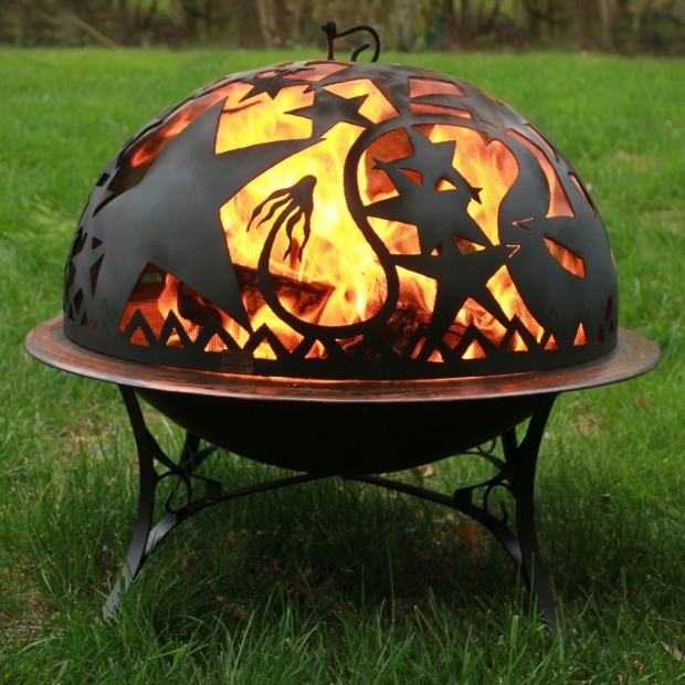 Standing Fire Pit