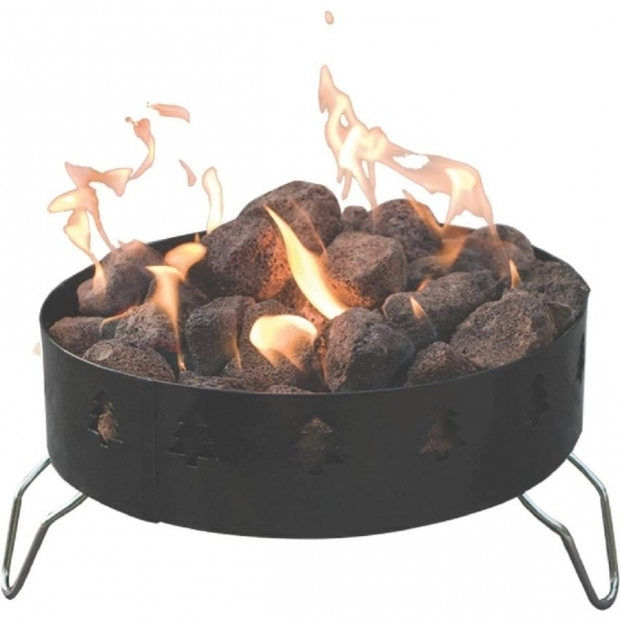 Stylish Camp Chef Fire Pit Shop Camp Chef 19 In W 55000 Btu Black Steel Portable Steel Liquid