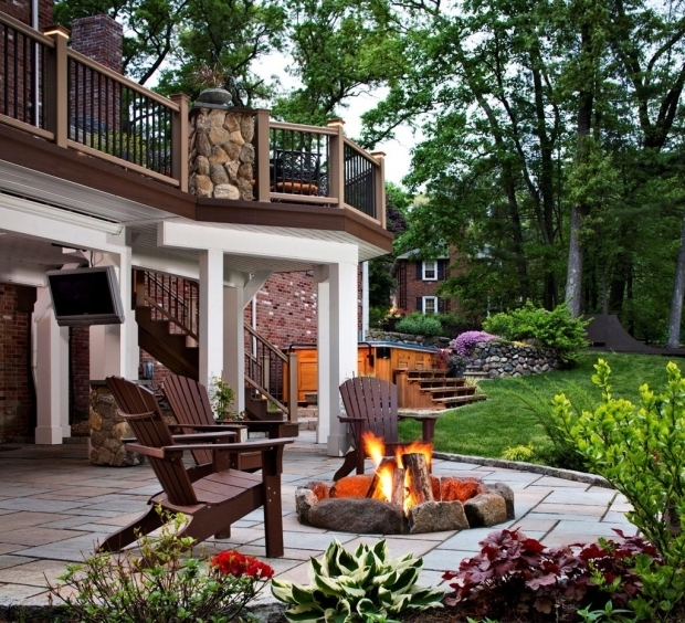 Stylish Fire Pit Mat For Wood Deck Deck Fire Pit Mat Fire Pit Design Ideas