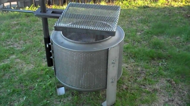 Stylish Washer Fire Pit Washer Drum Fire Pit Higleymetals Youtube