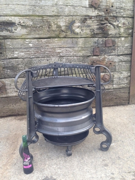 Stylish Wheel Fire Pit Wheel Fire Pit Home
