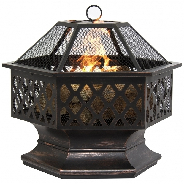 Wonderful Enclosed Fire Pit Outdoor Portable Fire Pit For Inspiring Outdoor Heater Design