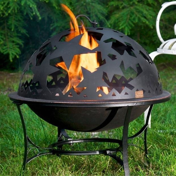 Wonderful Standing Fire Pit Standing Fire Pit Starry Night In Fire Pits