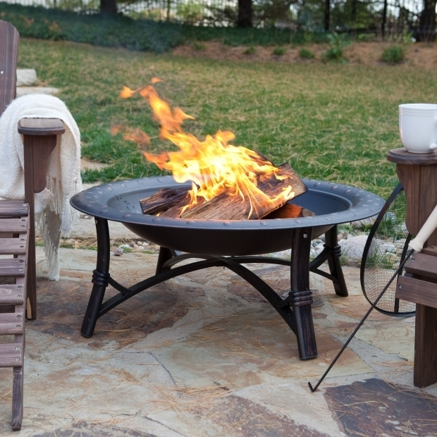 Alluring Fire Pits Under $100 Fire Sense 35 In Roman Fire Pit Walmart