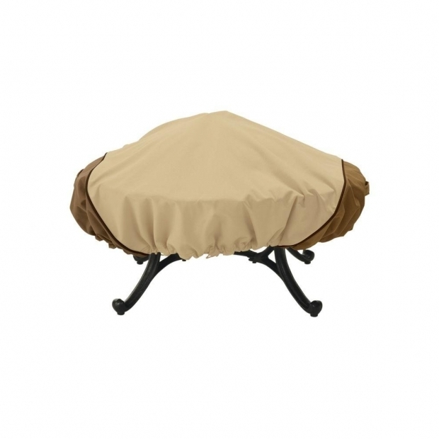 Alluring Home Depot Fire Pit Cover Classic Accessories Veranda Round Fire Pit Cover 78992 The Home