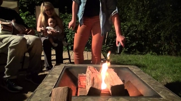 Alluring How To Start A Fire Pit How To Start A Fire In A Fire Pit In Under A Minute With Fiair