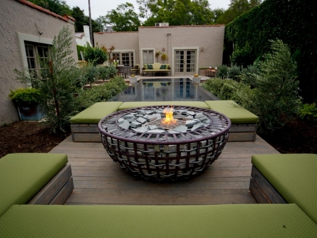 Amazing Decks With Fire Pits Outdoor Fire Pits And Fire Pit Safety Hgtv