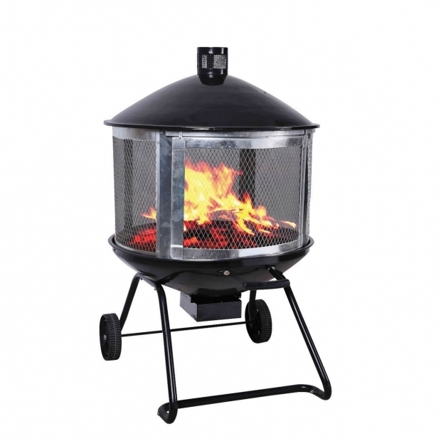 Amazing Living Accents Fire Pit Living Accents 28in Steel Black Firepit At Ace Hardware