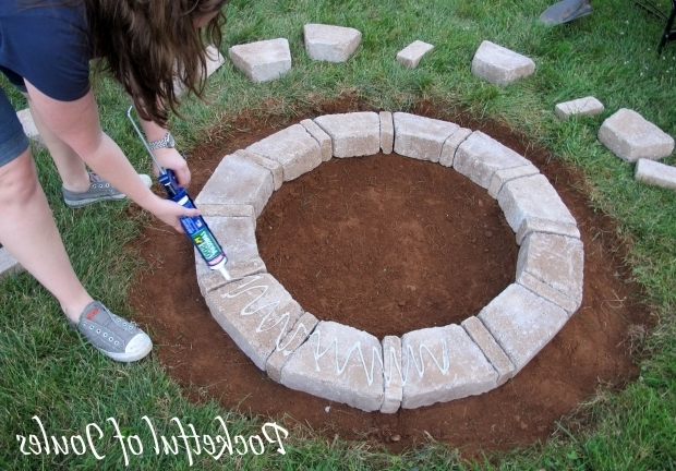 Awesome How To Make A Fire Pit With Rocks Diy Fire Pit Kit With Crusher Cone Forwardcapital