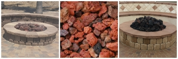 Awesome Lava Rock For Fire Pit Fire Pit Toppings