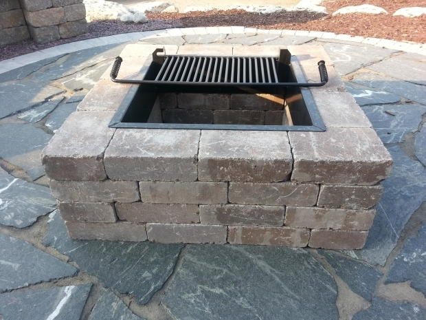 Awesome Stone Fire Pit Kit Weston Fire Pit Kit Madison Block Stone