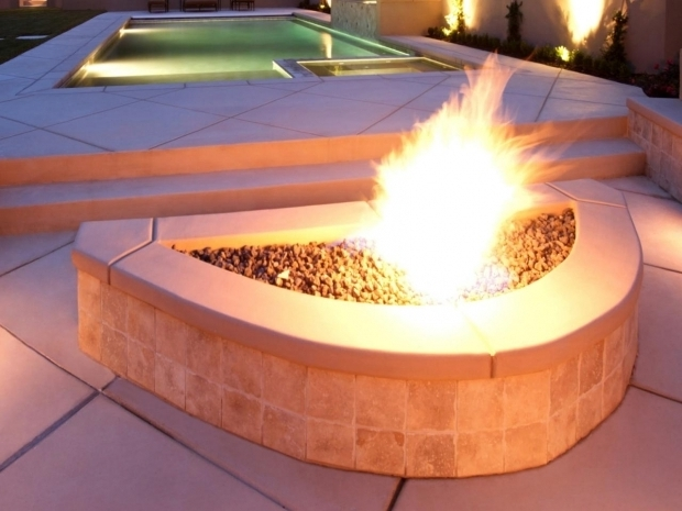 Delightful How To Build Gas Fire Pit Outdoor Natural Gas Fire Pits Hgtv
