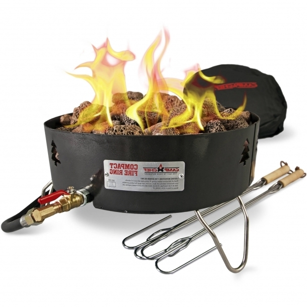 Delightful Portable Propane Fire Pit Camp Chef Campfire Pit Portablepropane Gc Log Walmart