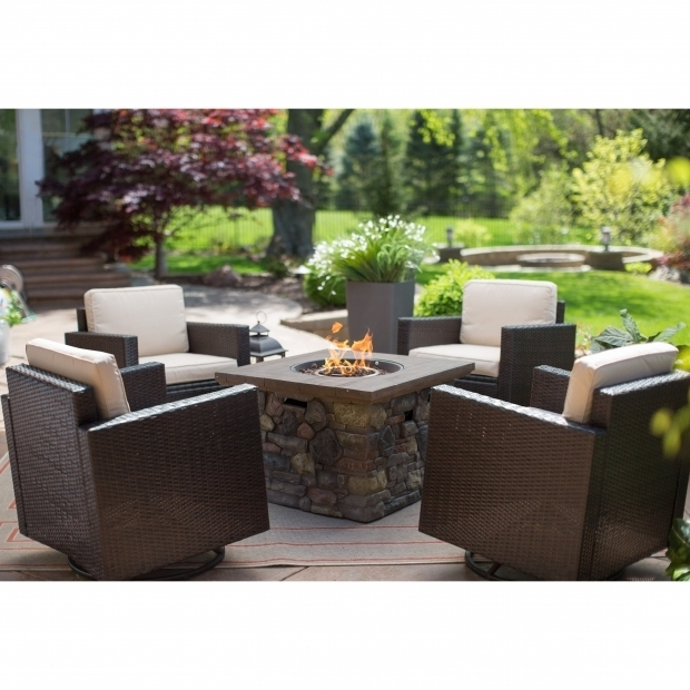 Fantastic Fire Pit Chat Sets Coral Coast Berea Wicker Red Ember Sheridan Fire Pit Chat Set