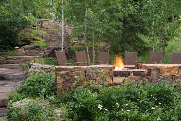 Fantastic Woodland Fire Pit Best Outdoor Room 2014 Hgtv