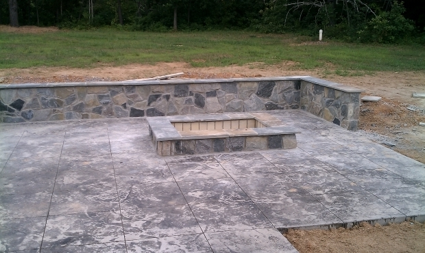 Gorgeous Fire Bricks For Fire Pit Should I Build A Fire Pit Or A Fireplace Revolutionary Gardens