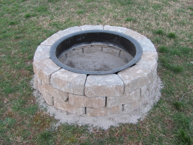 Gorgeous Fire Pit Bricks Lowes Exterior Design Interesting Outdoor And Garden Design With Lowes