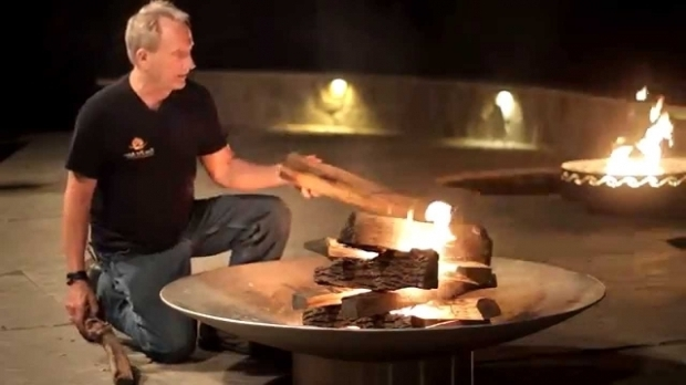 Gorgeous How To Start A Fire Pit How To Start A Fire The Easy Way Youtube