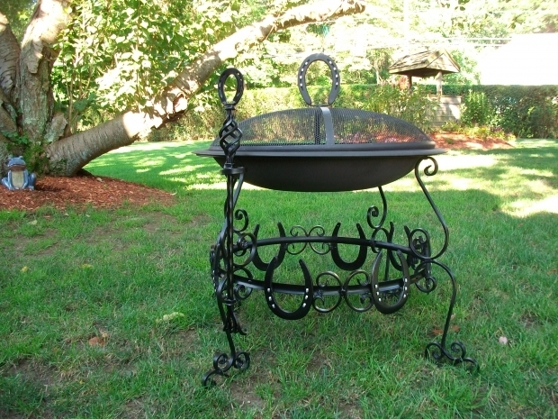 Image of Horseshoe Fire Pit Horseshoe Fire Pit Check Out Top Cat Welding On Facebook For More