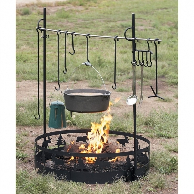Incredible Fire Pit Cooking Accessories Cast Iron Cooking Sets Cook Equipment Save Big Guide Gear