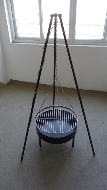 Incredible Hanging Fire Pit Hanging Barbecue Grill Outdoor Fire Pitnew Design Brazier Fire