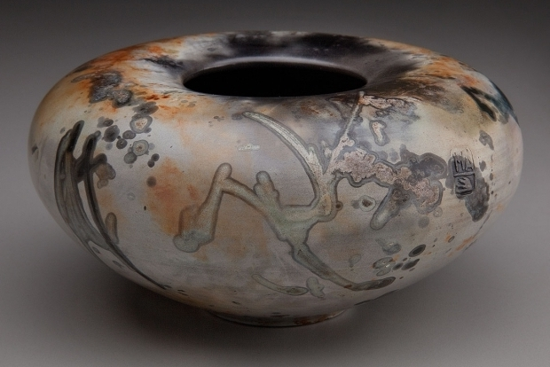 Incredible Pit Fired Pottery Saggar Fired Pottery Alex Mandli Saggar Fired And Pit Fired