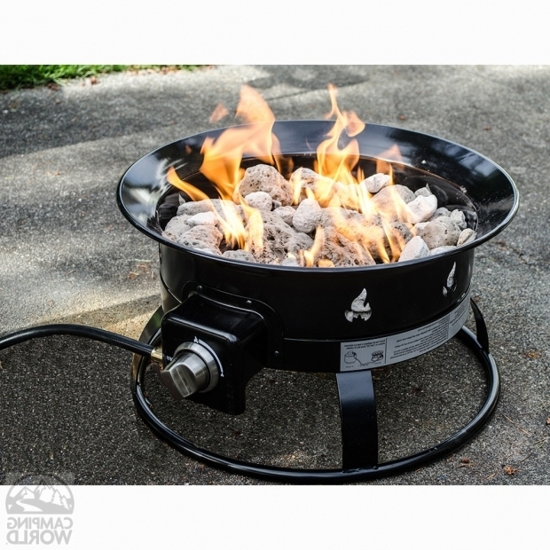Incredible Propane Fire Pit Camping Portable Propane Outdoor Fire Pit Heininger 5995 Fire Pits