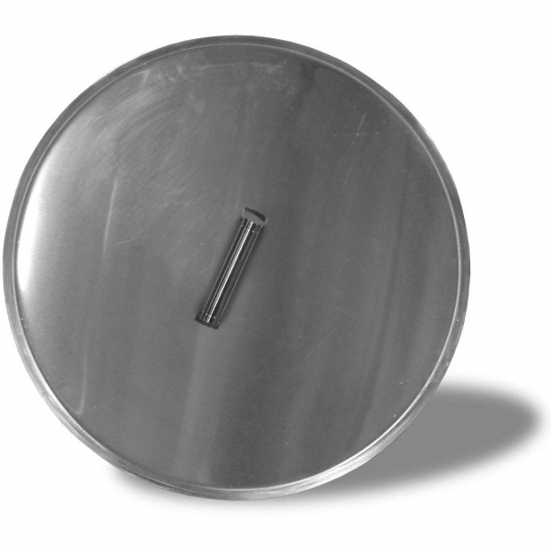 Inspiring Fire Pit Lids Firegear Stainless Steel Lid For 25 Inch Round Fire Pit Burner Pan